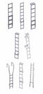 Hliníkové žebříky přístupové