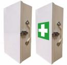 Prázdné skřínky a obaly na lékárničky